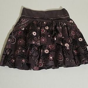 Jean Bourget purple kids skirt C41